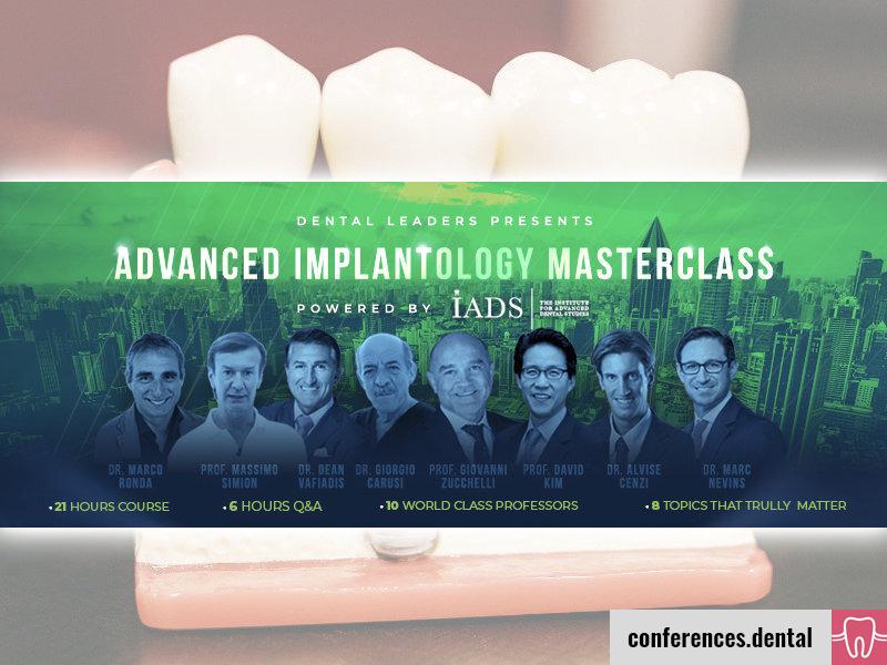 Advanced Implantology Masterclass 2021 (Online)